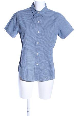 Polo Jeans Co. Ralph Lauren Camicia a maniche corte blu-bianco motivo a quadri
