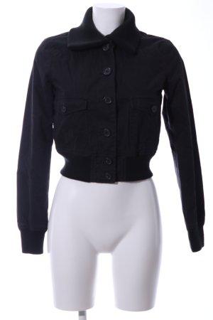 Polo Jeans Co. Ralph Lauren Kurzjacke schwarz Casual-Look