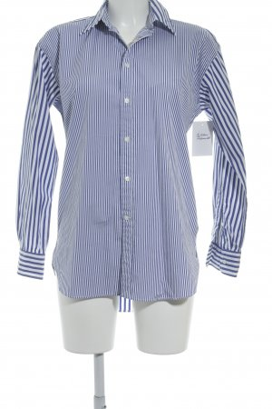 Polo Jeans Co. Ralph Lauren Oversized Bluse weiß-blau Plastikelemente