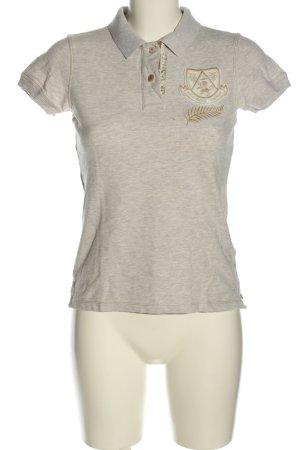 Polo Jeans Co. Ralph Lauren Polo-Shirt hellgrau Casual-Look