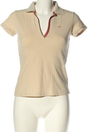 Polo Jeans Co. Ralph Lauren Polo-Shirt creme Casual-Look