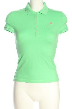 Polo Jeans Co. Ralph Lauren Polo-Shirt grün Casual-Look