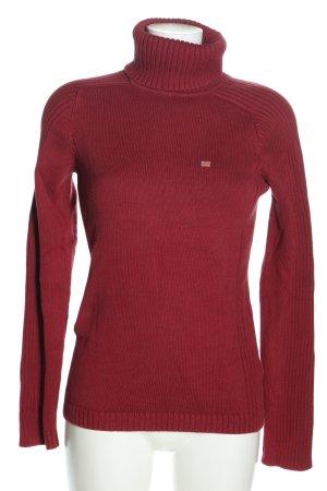 Polo Jeans Co. Ralph Lauren Rollkragenpullover rot Casual-Look