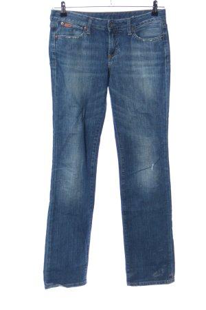 Polo Jeans Co. Ralph Lauren Straight-Leg Jeans blau Casual-Look