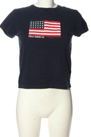 Polo Jeans Co. Ralph Lauren T-Shirt Motivdruck Casual-Look