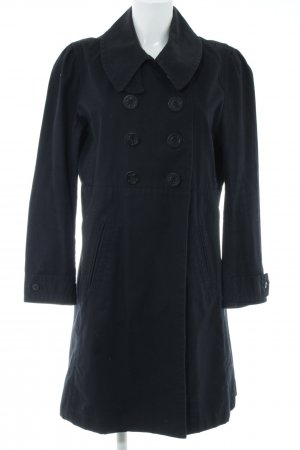Polo Jeans Co. Ralph Lauren Trench nero stile casual