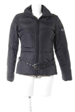 Polo Jeans Co. Ralph Lauren Winterjacke schwarz-rosé Casual-Look