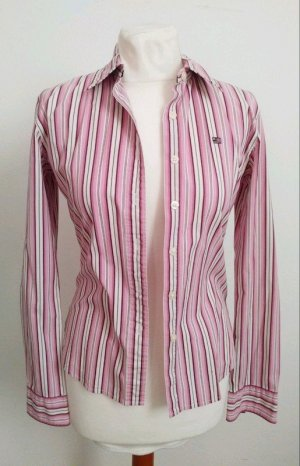 Polo Jeans Company Bluse Pink Weiß Gestreift