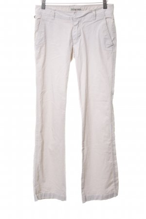 Polo Jeans Company Chinohose wollweiß Casual-Look