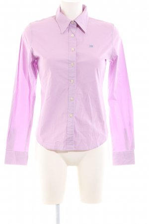 Polo Jeans Company Hemd-Bluse lila Business-Look