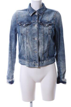 Polo Jeans Company Jeansjacke blau Casual-Look