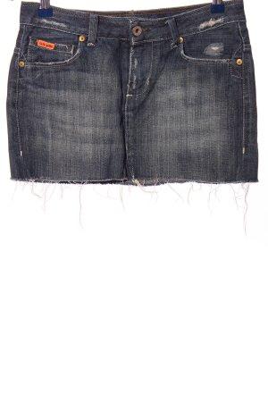 Polo Jeans Company Jeansrock hellgrau-blau Casual-Look