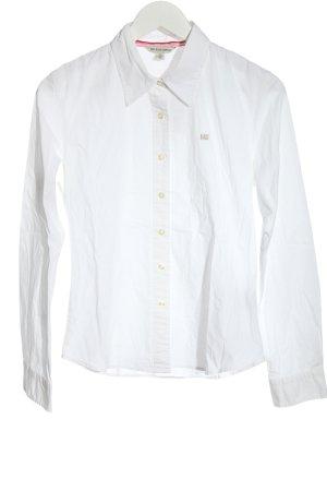 Polo Jeans Company Chemise à manches longues blanc style d'affaires