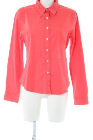 Polo Jeans Company Chemise à manches longues rose style d'affaires