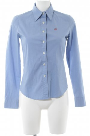 Polo Jeans Company Langarmhemd hellblau Casual-Look