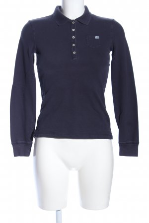 Polo Jeans Company Polo-Shirt blau sportlicher Stil