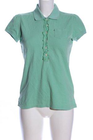 Polo Jeans Company Camiseta tipo polo verde look casual