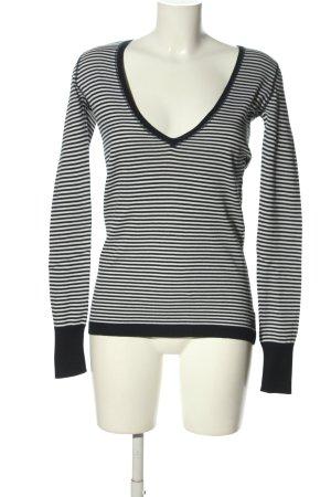 Polo Jeans Company Ringelshirt schwarz-weiß Streifenmuster Casual-Look