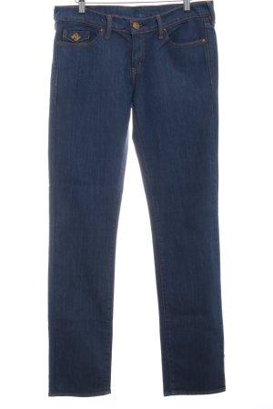Polo Jeans Company Straight-Leg Jeans stahlblau klassischer Stil