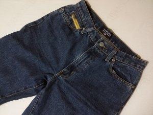 Polo Jeans Co. Ralph Lauren Vaquero de talle alto amarillo-azul oscuro Algodón