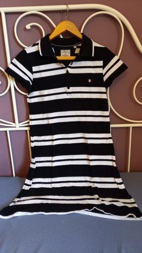 Peckott Sukienka polo biały-czarny