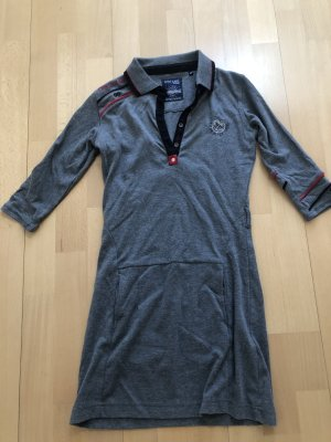 Giorgio di Mare Vintage Polo Dress grey cotton