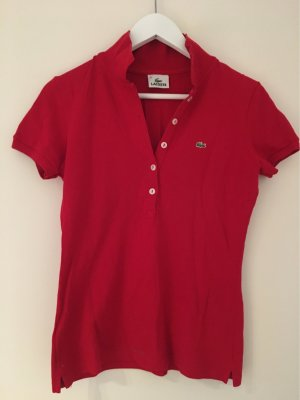 Lacoste Polotop rood