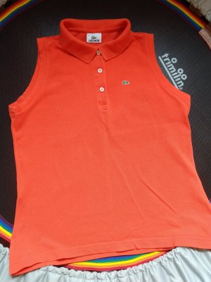 Polo Lacoste Größe 44 orange