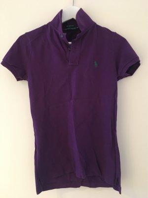 Ralph Lauren Polo shirt lila-donkerpaars
