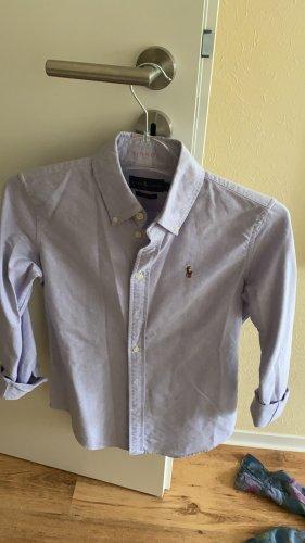 Polo Ralph Lauren Camisa de manga larga azul celeste-azul pálido