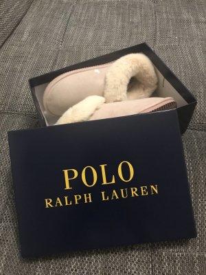 Polo Ralph Lauren Scuffs pink