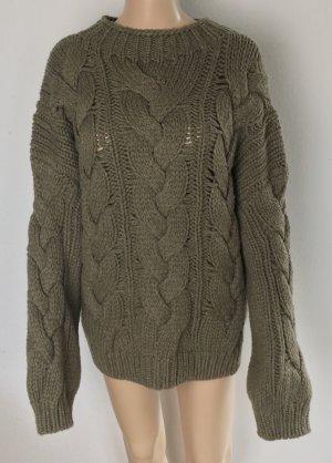 Polo Ralph Lauren, Aran Sweater, XL, Brown, Wool/Cashmere, neu, € 500,-