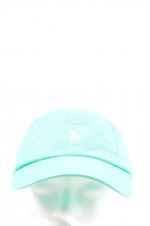 Polo Ralph Lauren Baseball Cap turquoise athletic style