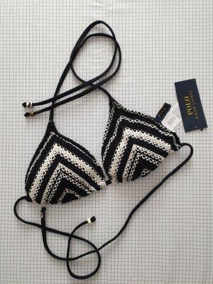 Polo Ralph Lauren Bikini noir-blanc cassé