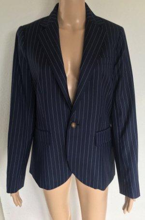 Polo Ralph Lauren, Blazer, navy mit Nadelstreifen, Wolle, 40 (US 10), neu, € 600,-