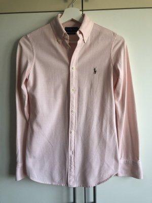 Polo Ralph Lauren Bluse aus Piqué in rosé