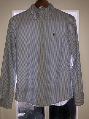 POLO RALPH LAUREN Bluse Damen, Blau / Weiß, Größe S