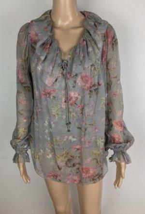 Polo Ralph Lauren, Bluse, S, mehrfarbig, floral, Seide, neu, € 300,-