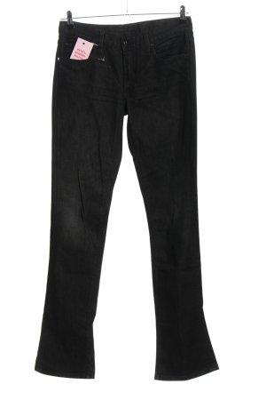 Polo Ralph Lauren Boot Cut Jeans schwarz Casual-Look