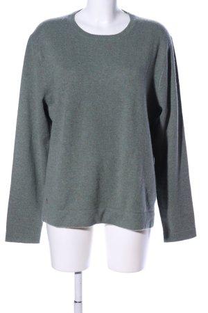 Polo Ralph Lauren Cashmere Jumper light grey flecked casual look
