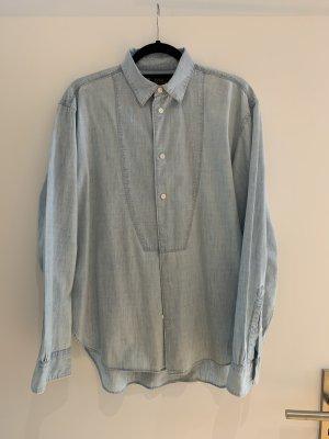 Polo Ralph Lauren Bluzka jeansowa błękitny