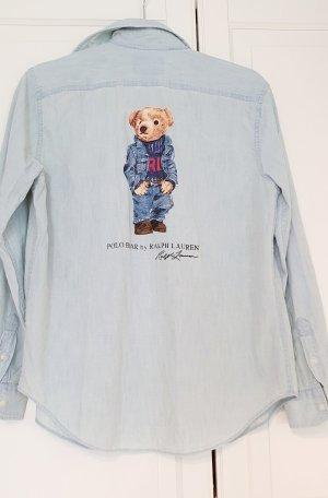 Polo Ralph lauren Chambrayhemd jeans hemd Polo Bear  bär