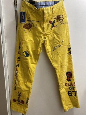 Lauren by Ralph Lauren Corduroy Trousers yellow
