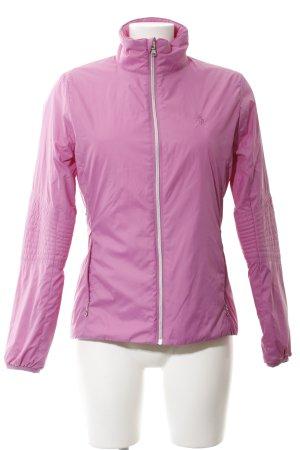 Polo Ralph Lauren Daunenjacke rosa-silberfarben sportlicher Stil