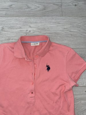 US Polo Top Polo rose-rose