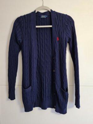 Polo Ralph Lauren Maglione lavorato a maglia blu scuro