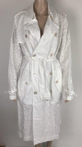 Polo Ralph Lauren, Embroidered Trench, weiß, US 10 (40), Leinen/Polyester, neu, € 700,-