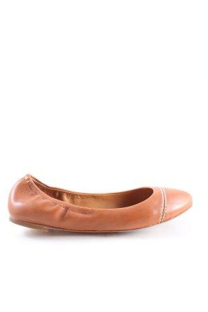 Polo Ralph Lauren Bailarinas plegables marrón look casual