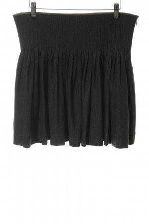 Polo Ralph Lauren Faltenrock anthrazit-schwarzbraun Elegant
