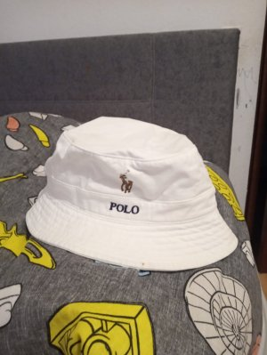 Polo Ralph Lauren Fabric Hat white